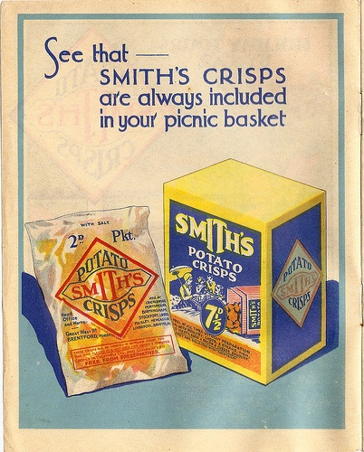 Old Smith's Crisps Advertisement