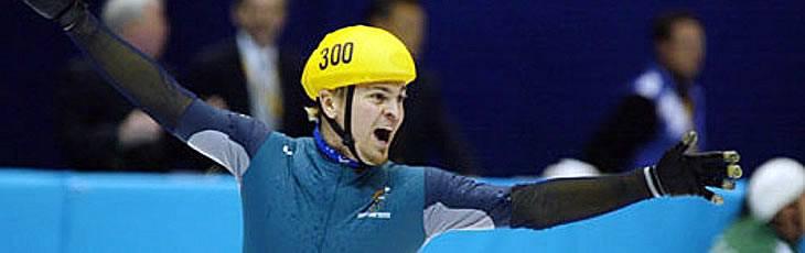 Steven Bradbury Speed Skater