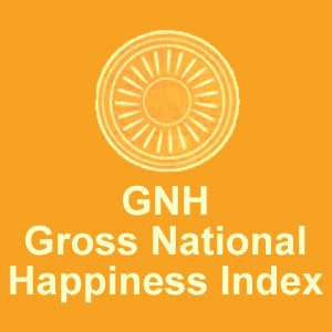 Gross National Happiness Index Logo