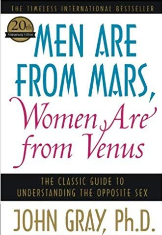 Book Cover Men are from Mars Women are from Venus